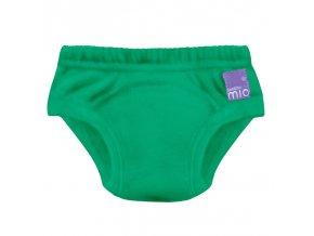 Zelené učící plenka kalhotky Bambino Mio pro trening na nočník TP EM