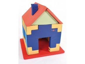 Hrací dětský domeček Tetris z molitanu