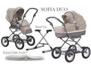 Kombinovaný kočárek SOFIA DUO 2020 ITACA ERGO