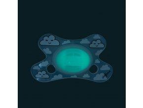 Dudlík Difrax sviticí ve tmě Natural 0+