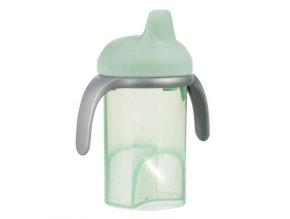 Dětský hrneček s tvrdým pítkem Difrax mint
