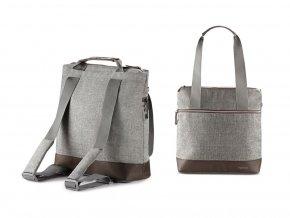 šedý přebalovací batoh Inglesina aptica back bag minderal grey