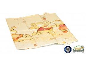 Praktická skládací cestovní přebalovací matrace s designem tančících slonů