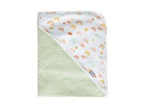 dětský froté ručník s kapucí bébéjou 75x85 cm