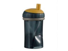 Dětský hrneček s brčkem Difrax clay, 250 ml