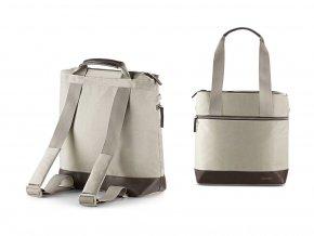 béžová taška  a batoh ke kočárku InglesinaAptica Bag Cashmere Beige