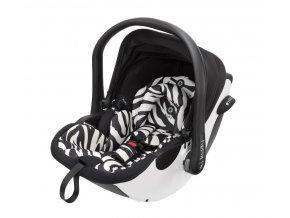 Náhradní potah do autosedačky kiddy Evo-luna i-Size zebra