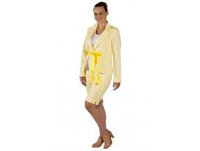 Těhotenské sako Rialto Haussy žlutá 1934
