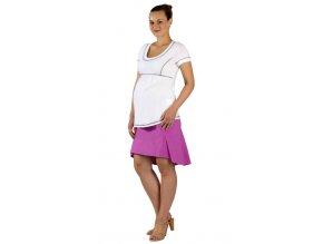 Těhotenská sukně Rialto Winseler fialová 19176
