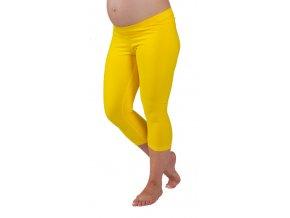 3/4  Těhotenské legíny Rialto Shaft žluté 0107 (Dámská velikost 36)