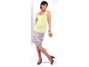 Těhotenské tílko Rialto Ecly zelené 0253 (Dámská velikost 38)