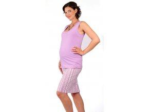 sukně Rialto Bever fialové pruhy 0259