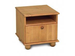 Noční stolek Faktum Tomi borovice