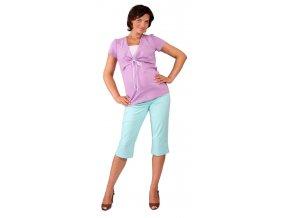 Těhotenské 3/4 kalhoty Rialto Inor modrá 1931 (Dámská velikost 38)