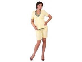 Těhotenské kraťasy Rialto Ans žlutá 1934 (Dámská velikost 36)