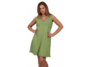 Těhotenské šaty Rialto Lille zelená 01244 (Dámská velikost 36)