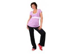 Těhotenské tričko Rialto Rumes fialové 0254 (Dámská velikost 36)