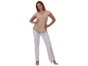 Těhotenské tričko z organické bavlny Rialto Doncols 0181 (Dámská velikost 36)