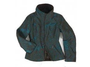 Dámská zimní bunda Rialto BIBA - tyrkysová 0168