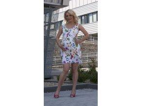 Těhotenské šaty Rialto Lommel 0306 květ (Dámská velikost 36)
