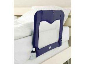 Cestovní zábrana k posteli+taška, BLUE 90 cm