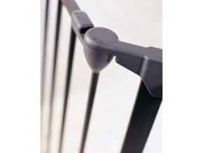 Prodloužení pro prostorovou zábranu Flex černé 33 cm