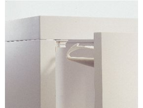Univerzální uzávěr pro zásuvky nebo dvířka lepící, 1ks