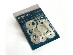 Babydan Ochrana do elektrických zásuvek 10 ks