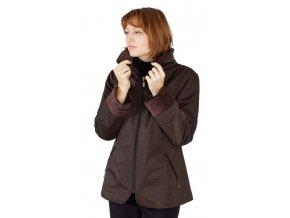 Dámská zimní bunda Rialto Biba - hnědá 0169