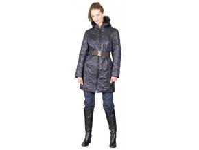 Dámský kabát  Rialto Huet černý 0369