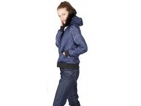 Dámská bunda Rialto Huke modrá 0367