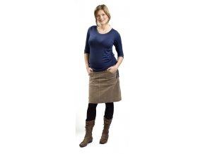 Těhotenské tričko Rialto Luskentyre modrá 0232 (Dámská velikost 36)