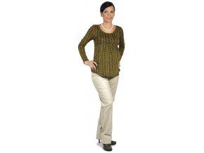 Těhotenské tričko Rialto Borvemore 0152 (Dámská velikost 36)