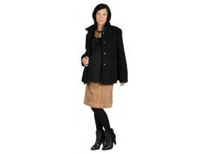 Těhotenský kabátek Rialto Manom černá 0077