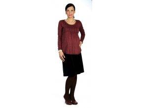 Těhotenské tričko Rialto Borvemore 0151 (Dámská velikost 36)