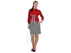 Nápadité a elegantní těhotenské šaty Rialto Ledrove pro sebevědomou těhotnou.