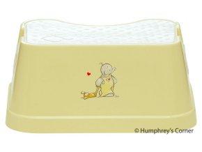Dětské protiskluzové stupátko Humphrey žluté