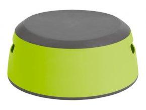 Dětské protiskluzové stupátko LUMA lime green