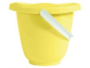 Kyblík na pleny s víkem LUMA - Sunny yellow