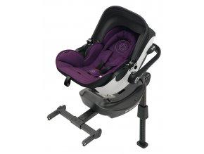 Kiddy Evoluna i-size 2017 040 Royal Purple  včetně báze ISOFIX