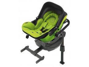 Kiddy Evoluna i-size 2017 097 Lime Green  včetně báze ISOFIX