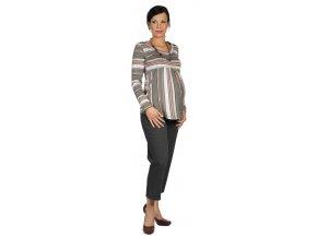 Těhotenské tričko Rialto Borvemore 0083 (Dámská velikost 42)