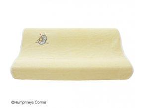 Froté návlek na malou podložku Bébé-Jou Humphrey žlutý