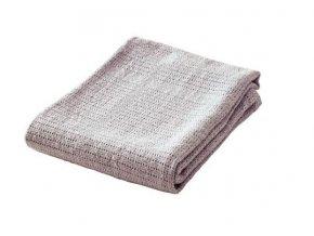 Dětská háčkovaná bavlněná deka BabyDan šedá
