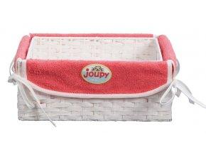 Košík na kojenecké potřeby Bébé-Jou malinová