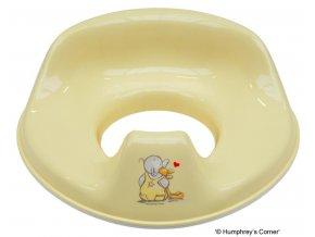Tréninkové sedátko na toaletu Bébé-Jou Humphrey žlutý