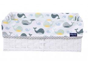 Košík na kojenecké potřeby Bébé-Jou Wally Whale