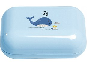 Pouzdro na mýdlo Bébé-Jou Wally Whale dream blue