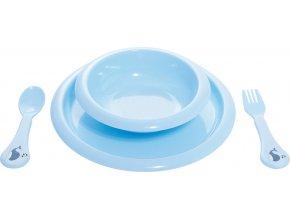 Dětská jídelní sada Bébé-Jou Wally Whale