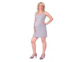 Dámské pouzdrové šaty z příjemného elastického materiálu.